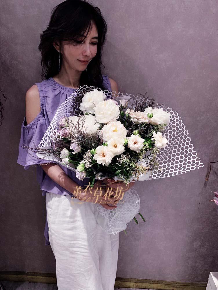 牡丹花束設計108050110