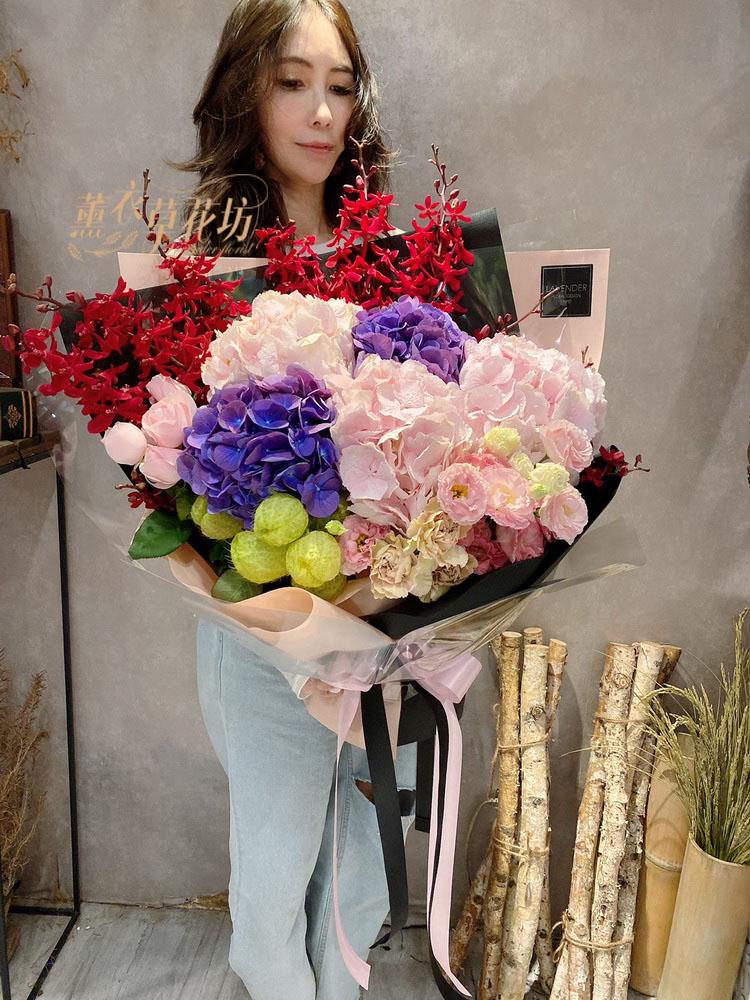 繡球花束109052219