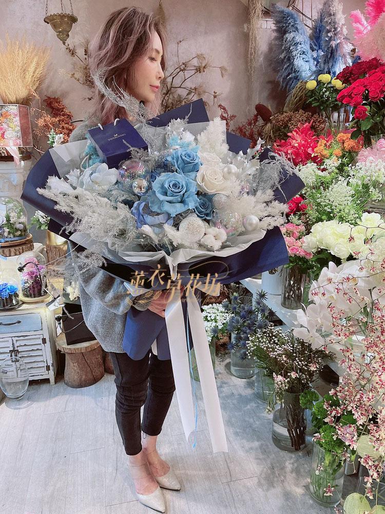 永生花/不雕花/乾燥花花束設計 109121612