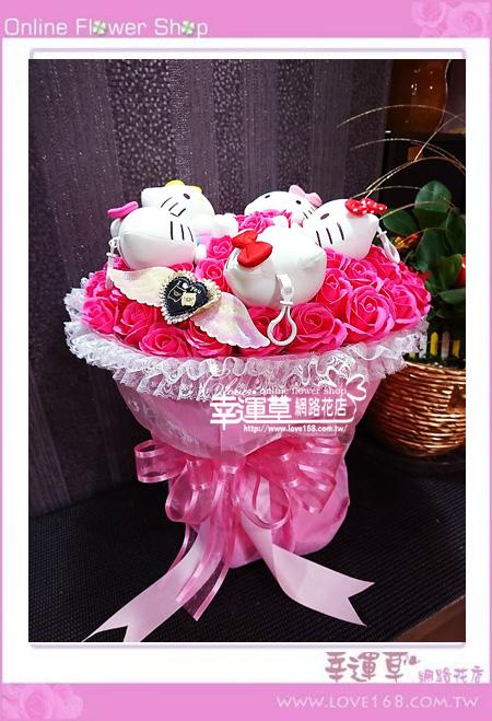 KT香氛玫瑰花束K0607