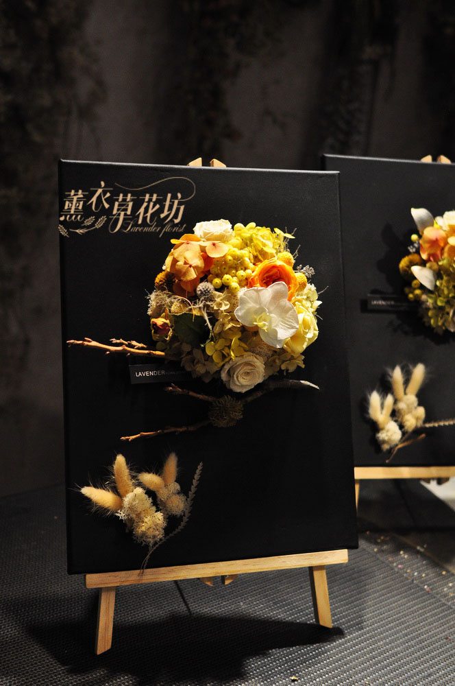花框~不凋花/永生花/乾燥花設計 109092502