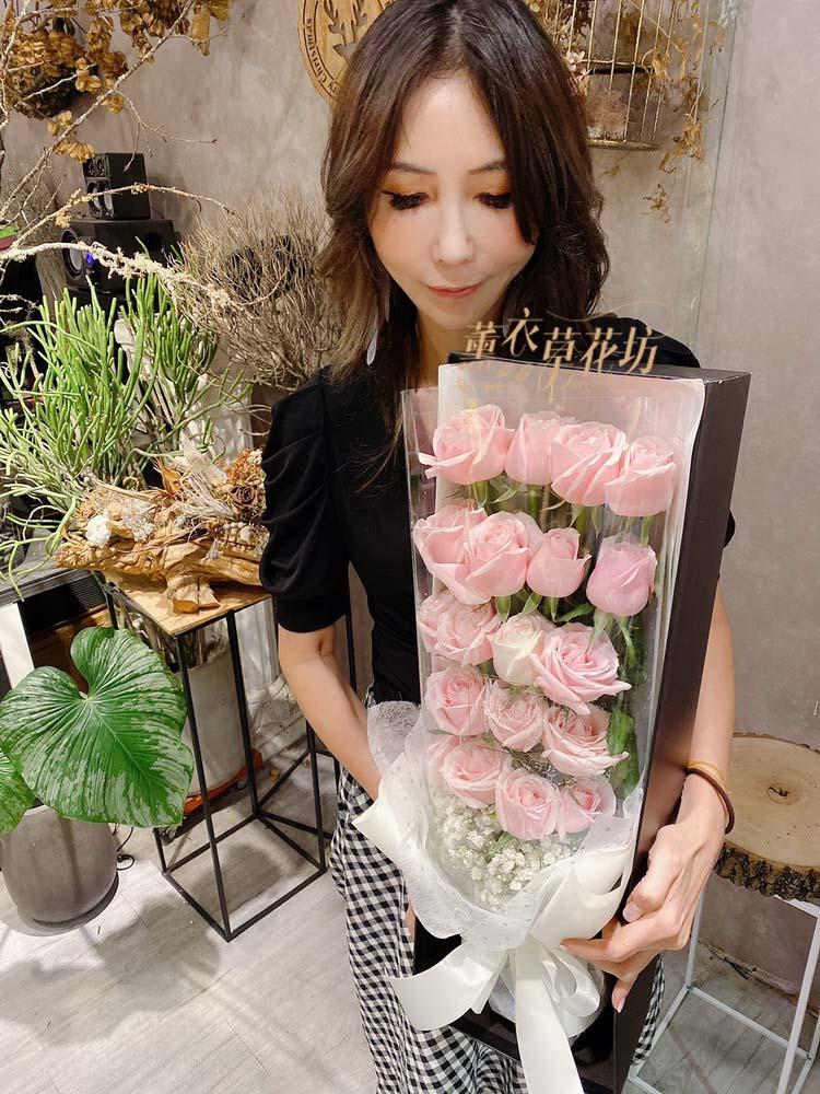 歐式玫瑰花盒a051908