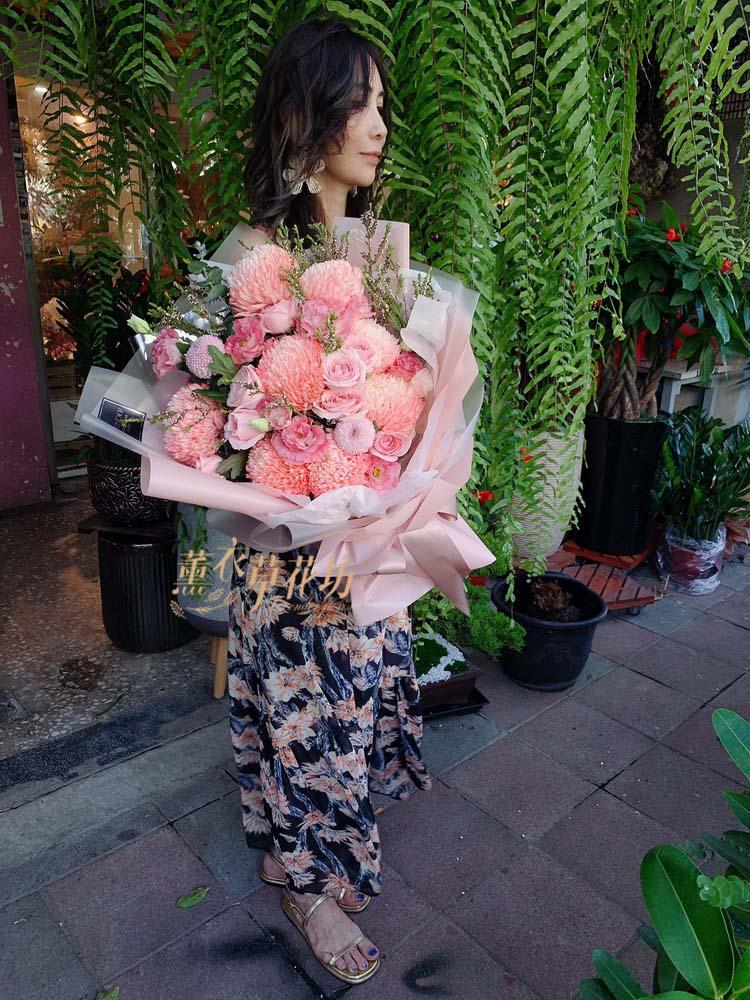 韓式花束設計108091306