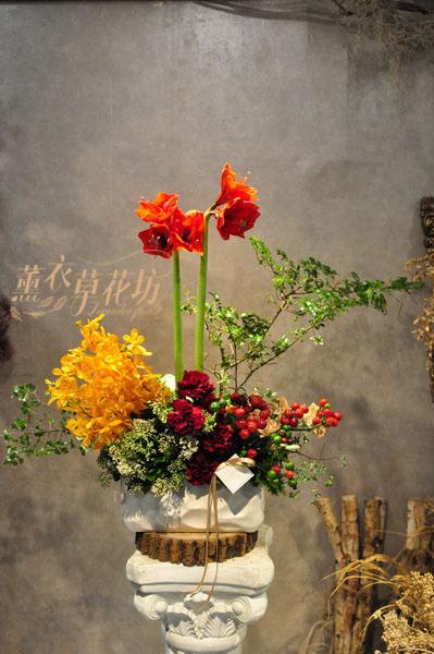 歐式盆花設計110032629