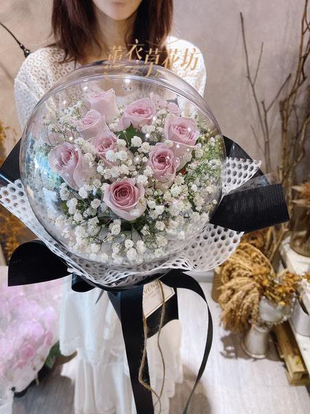 氣球玫瑰花束~110082341