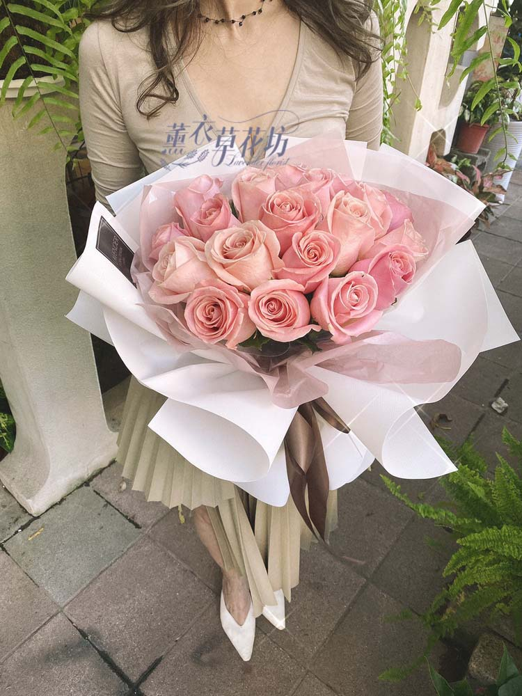 荷蘭進口粉色玫瑰 108111607