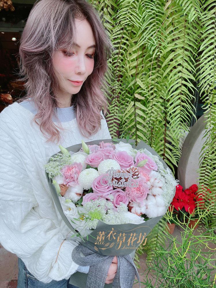 紫玫瑰花束~109120825