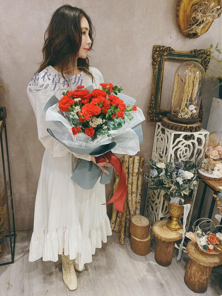 母親節/康乃馨/花束設計109041906