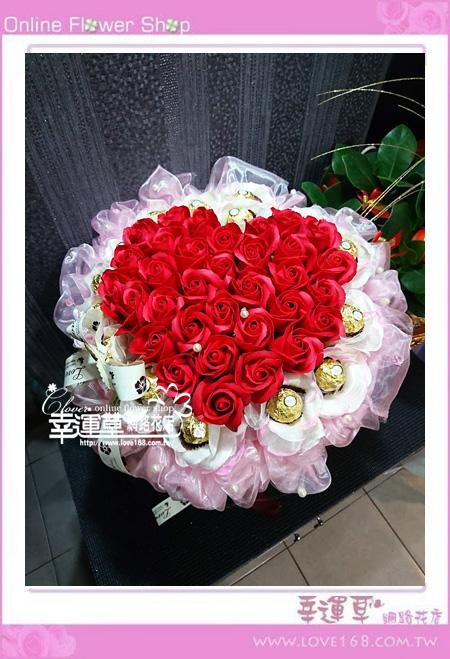 香氛玫瑰花束K0406