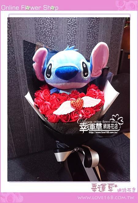 香氛玫瑰花束K0429