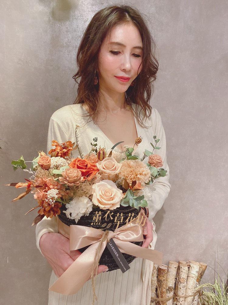 永生花/不凋花/恆星花/乾燥花/盆花/設計109042707