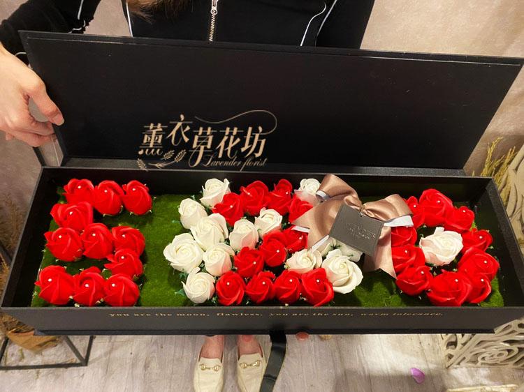 缺貨-520花盒設計 107052001