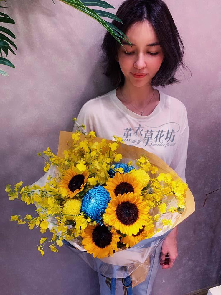 文心蘭花束108052507