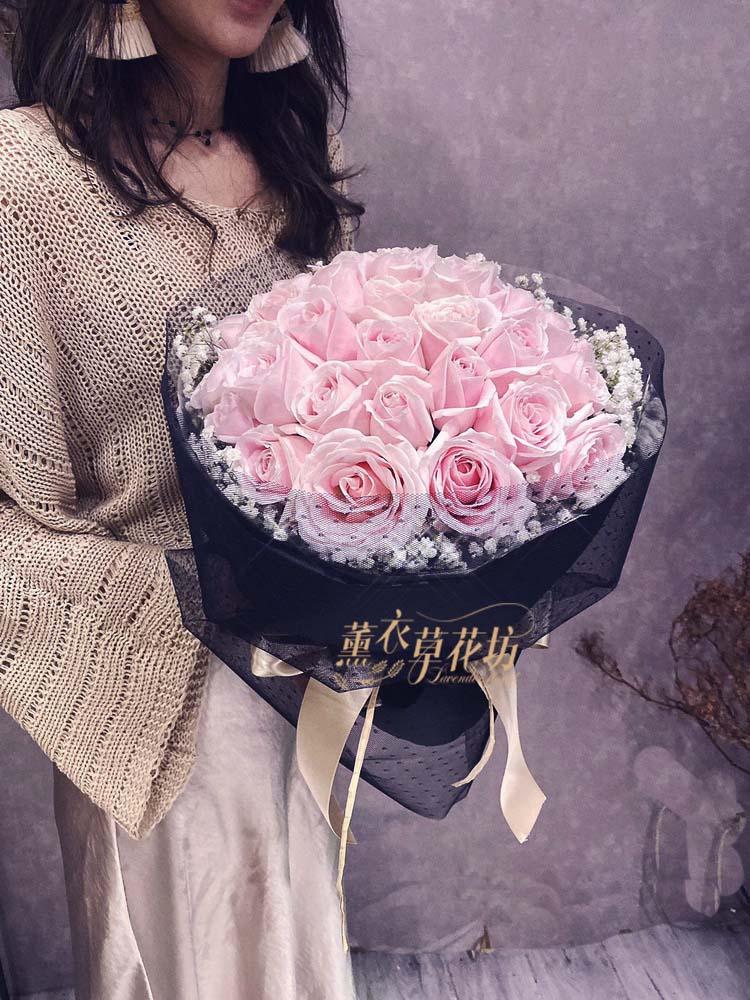 粉玫瑰花108111408