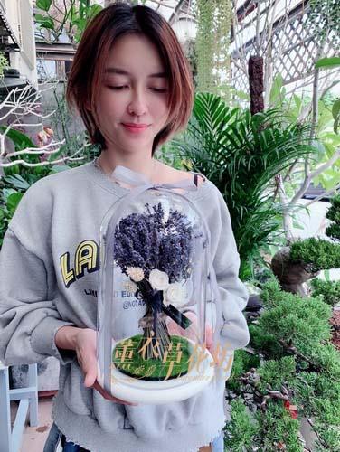 薰衣草~玻璃罩設計107102711