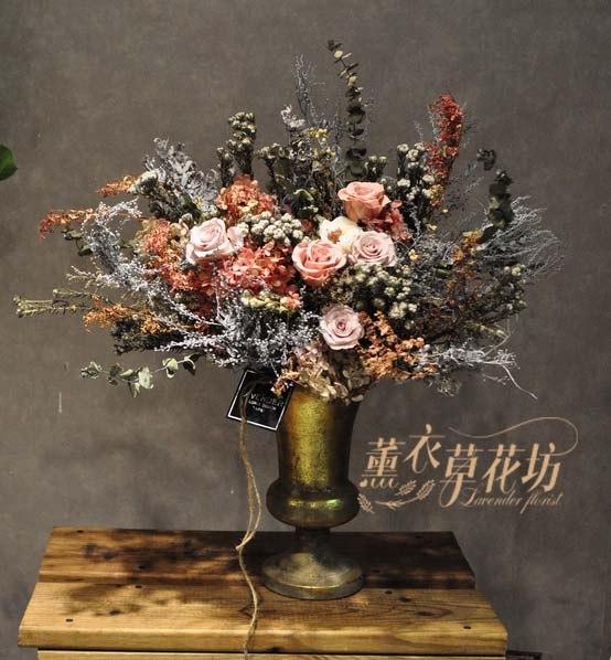 缺貨-不凋花/永生花/恆星花 設計 107092503