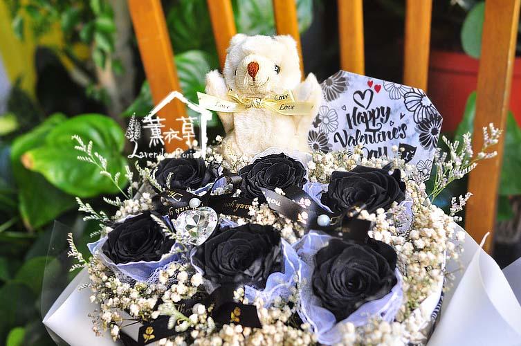 黑玫瑰限定款~不凋花登場bb111801