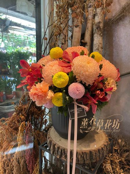 富貴牡丹菊設計110012716