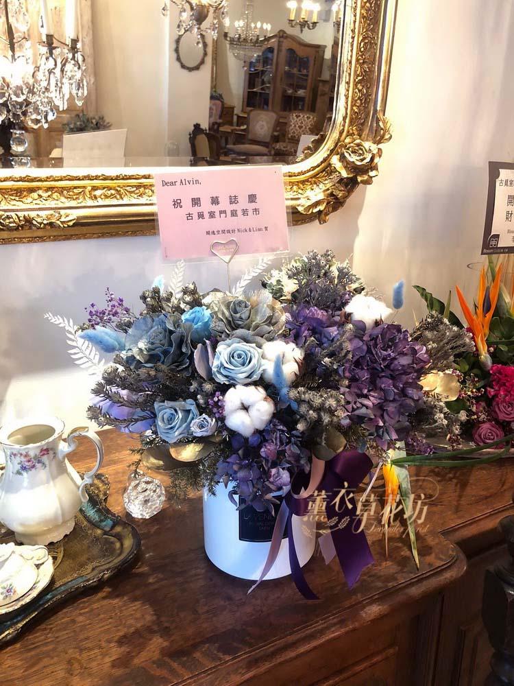 盆花~乾燥花系列 108030902