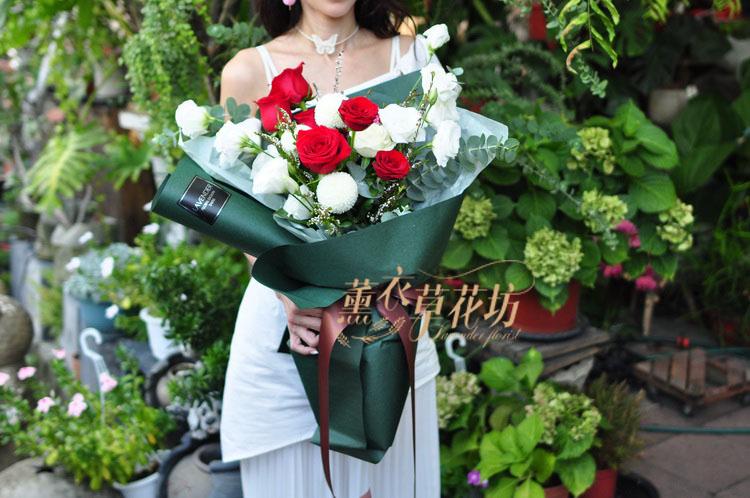 玫瑰花束設計 109082020
