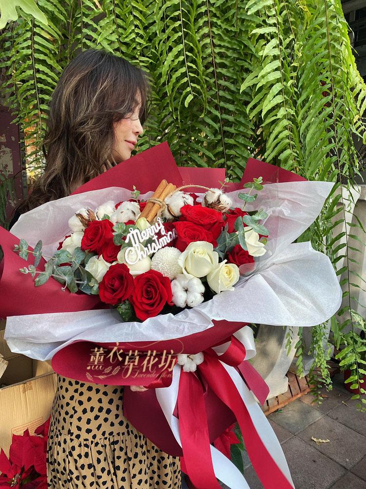 玫瑰花束設計108122508