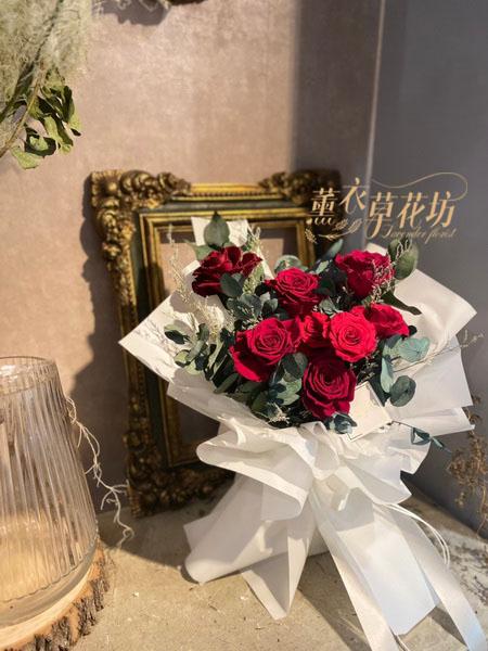 9朵永生花花束 110071506