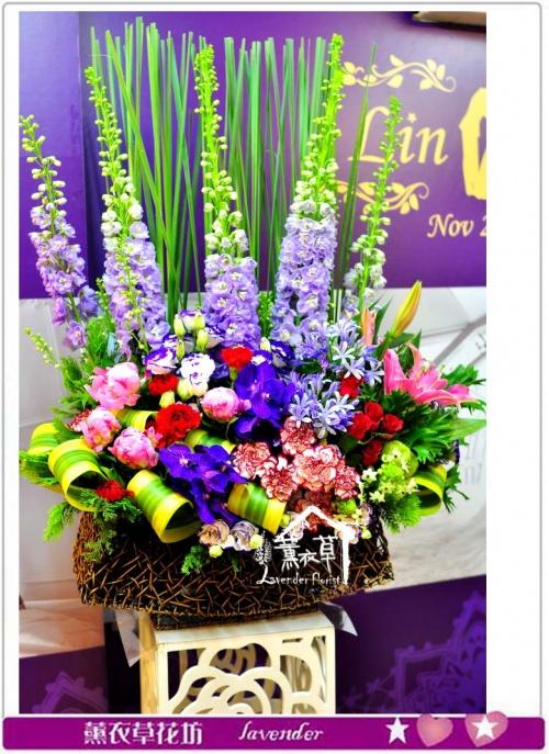 豪華盆花a050141