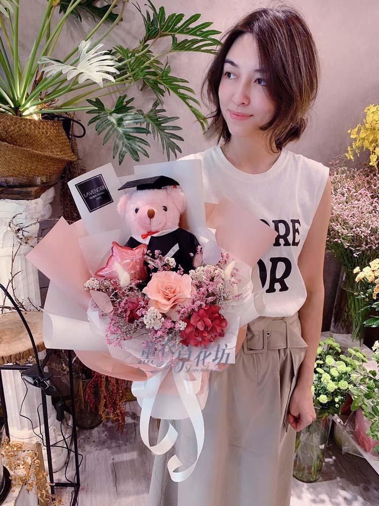 畢業熊熊花束108062012