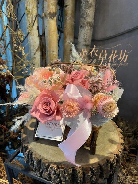 提籃-永生花/乾燥花設計 110011401