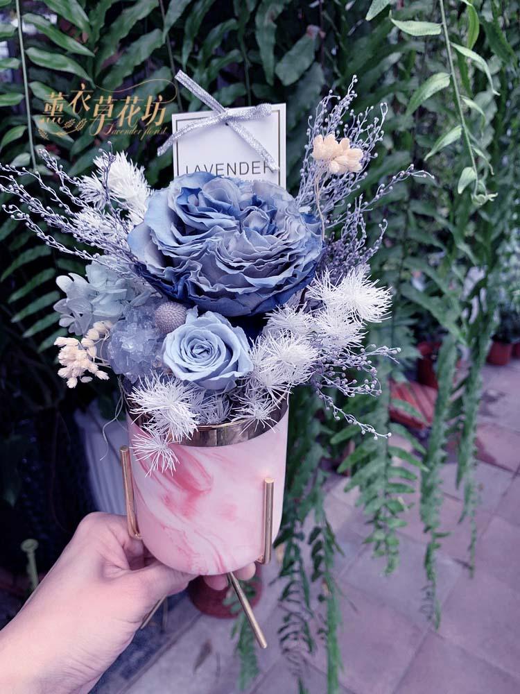 庭園玫瑰/不凋花/乾燥花108060407