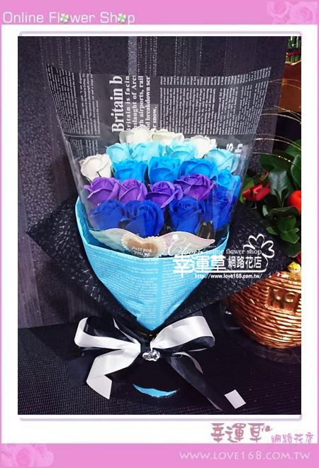 香氛玫瑰花束K0418