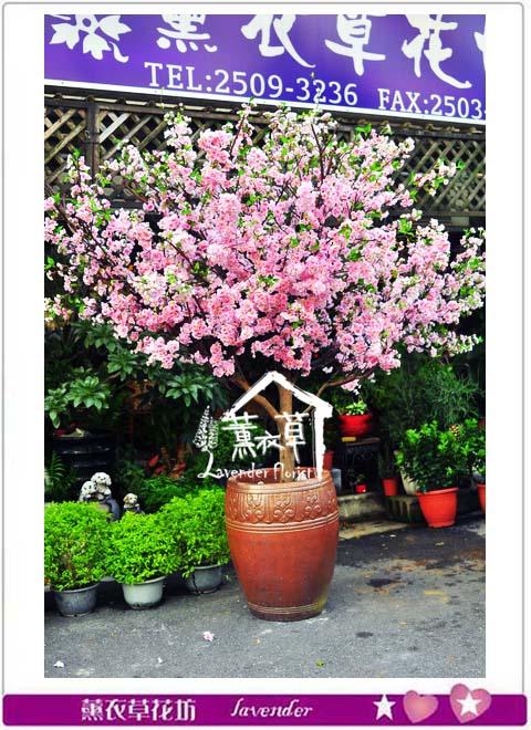 櫻花樹~人造花系列B102513