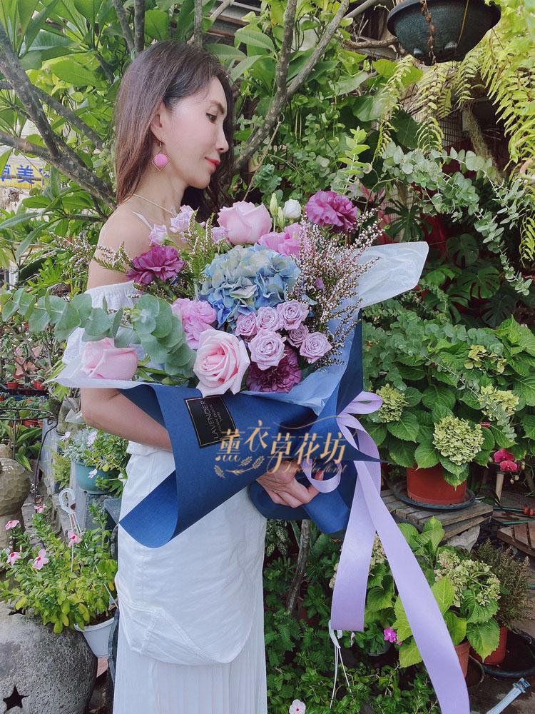 繡球花束 109082022