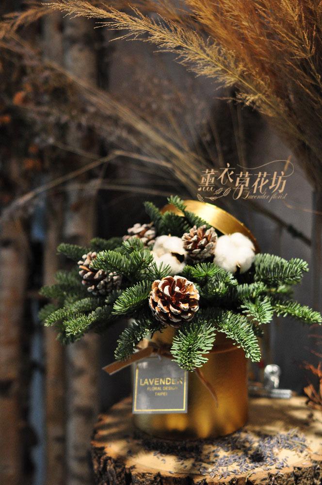 聖誕設計~諾貝松花盒設計109120720