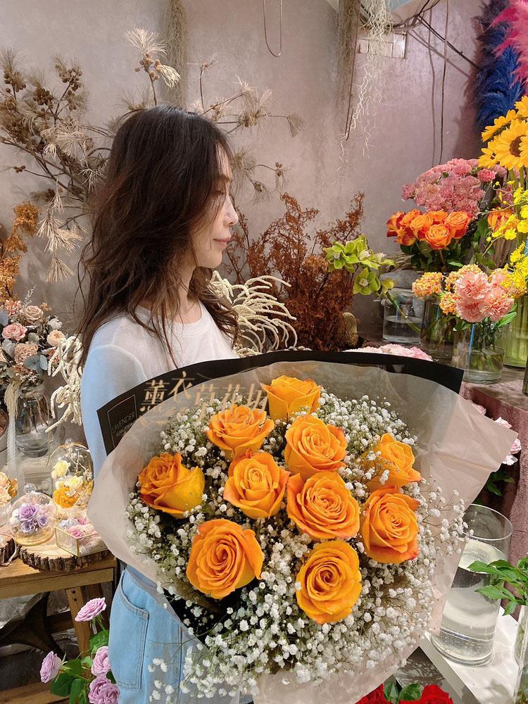 進口玫瑰花束設計 109052020