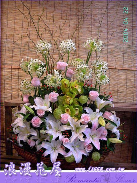 F02豪華盆花