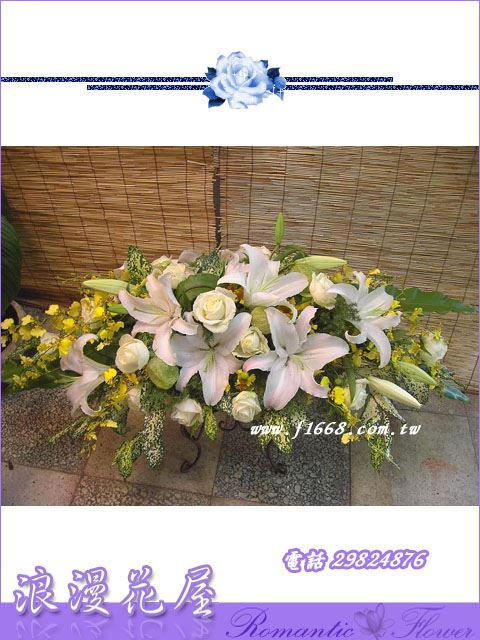 F18豪華盆花