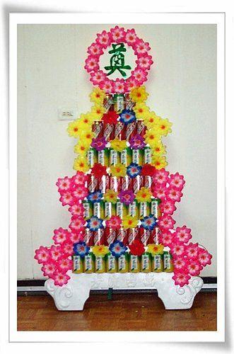 K01*7層罐頭塔*汽水飲料