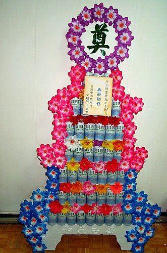 K03*7層罐頭塔*啤酒