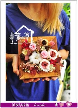 不凋花~木框設計 106092510