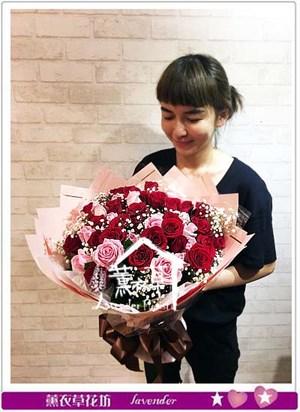60朵玫瑰花束 106060613
