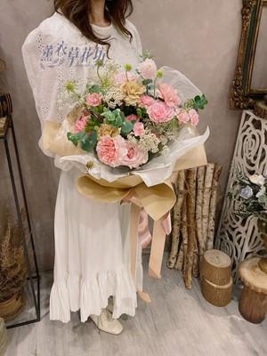 母親節/康乃馨/花束設計109041905
