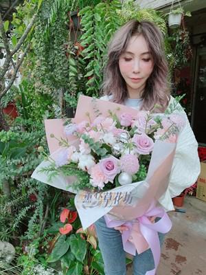 紫玫瑰花束 109120823