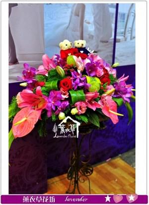 婚禮盆花設計a011714