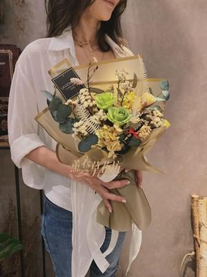 不凋花/永生花/乾燥花/花束設計 109061516