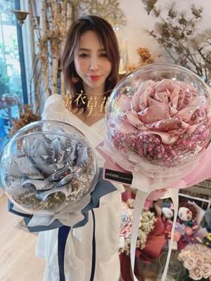 氣球鈔票花~設計110071615