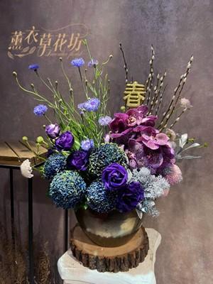 歐式盆花設計110012717