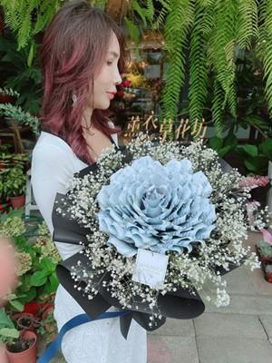 巨大~鈔票玫瑰花束 110070526