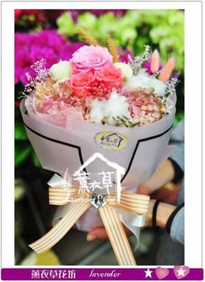 不凋花~花束設計106011613