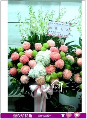 牡丹菊花籃設計一對c090210